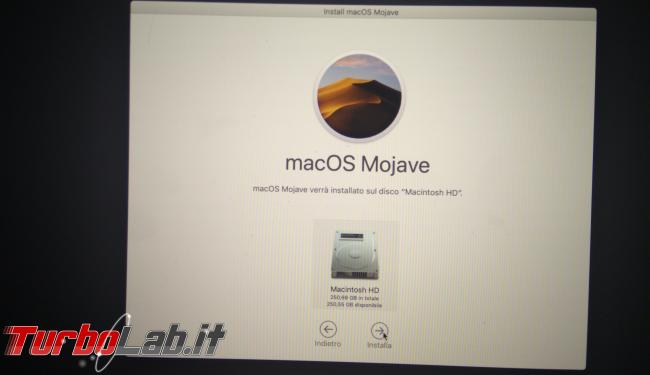 Come formattare reinstallare macOS Mac MacBook (guida) - PHO_20190908_191835_1