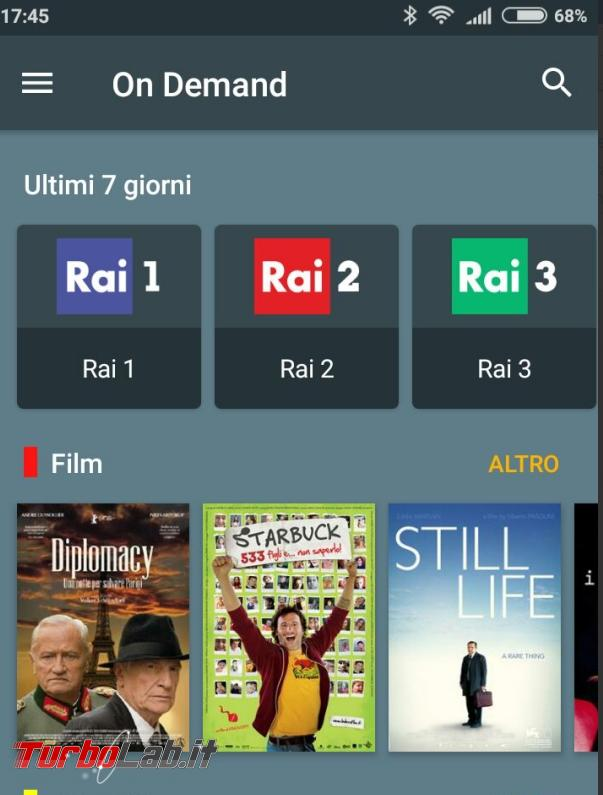 Come guardare film streaming Android