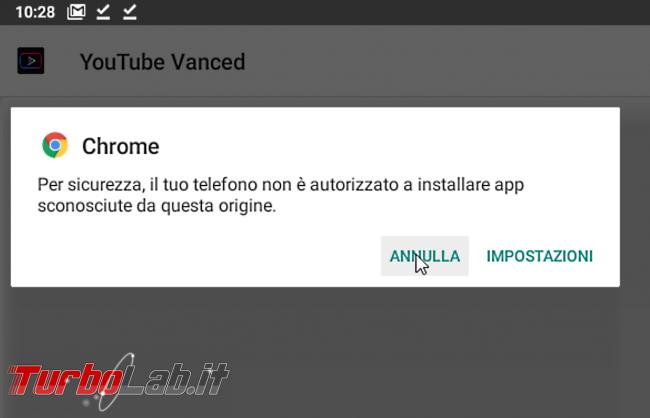 """Come installare apk Android 10: sbloccare risolvere errore """" sicurezza, telefono non è autorizzato installare app sconosciute questa origine"""" - android apk non autorizzato"""