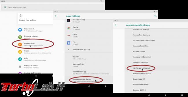 """Come installare apk Android 10: sbloccare risolvere errore """" sicurezza, telefono non è autorizzato installare app sconosciute questa origine"""" - android app fonti sconosciute"""