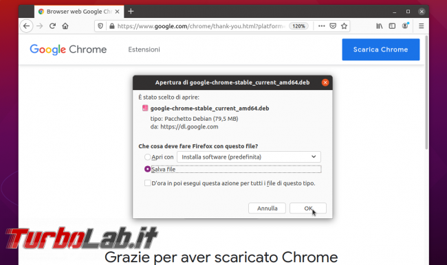 Come installare Chrome stabile, beta, dev Ubuntu modo giusto, sola riga comando (video)