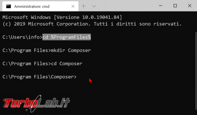 Come installare Composer Windows 10: Guida Definitiva - zShotVM_1582527773