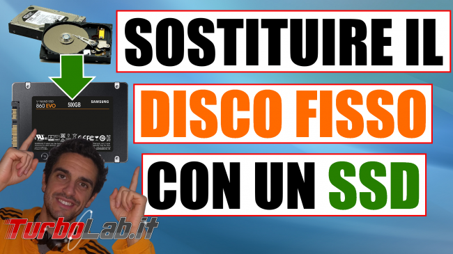 Come installare SSD PC portatile/notebook sostituire/clonare hard disk senza formattare (video-guida definitiva) - installare ssd spotlight