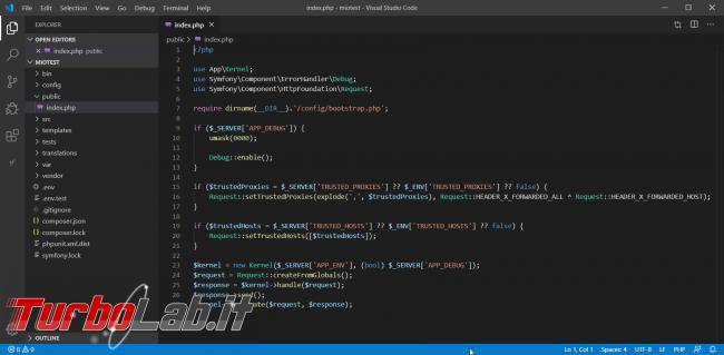 Come installare Symfony 5 Windows 10: video-Guida Definitiva (PHP, Git, Composer, MySQL)