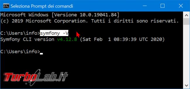 Come installare Symfony 5 Windows 10: video-Guida Definitiva (PHP, Git, Composer, MySQL) - zShotVM_1582470483