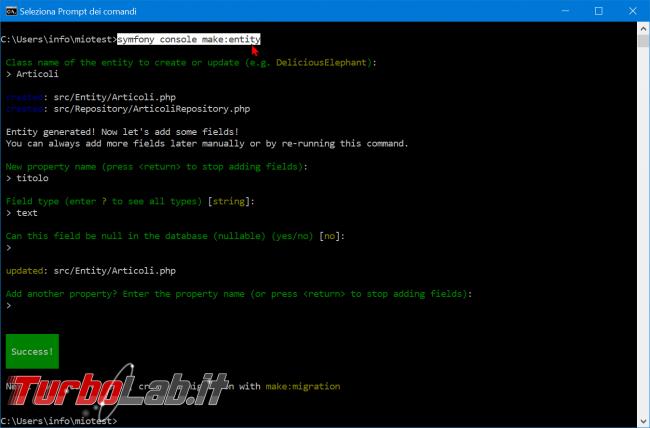 Come installare Symfony 5 Windows 10: video-Guida Definitiva (PHP, Git, Composer, MySQL) - zShotVM_1582486652