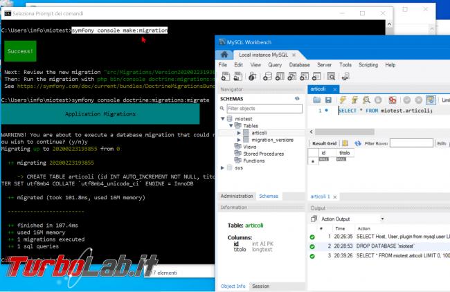 Come installare Symfony 5 Windows 10: video-Guida Definitiva (PHP, Git, Composer, MySQL) - zShotVM_1582486815