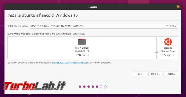 Come installare Ubuntu 20.04 fianco Windows 10: Guida Definitiva dual boot - PHO_20190913_175548