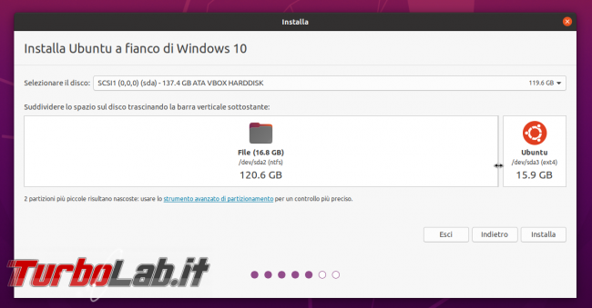 Come installare Ubuntu Dell XPS 15 7590 dual boot Windows 10 (guida modello 2019/2020) - PHO_20190913_175548