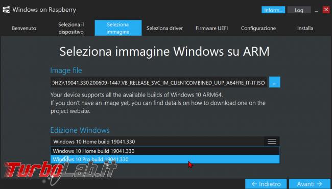 Come installare Windows 10 Raspberry Pi 2, 3, 4: guida completa (video) - zShotVM_1604952995