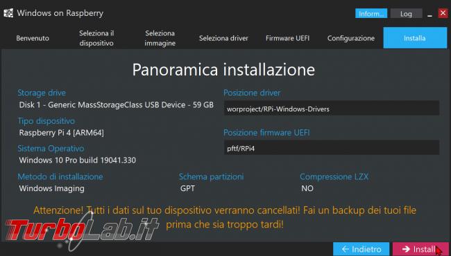 Come installare Windows 10 Raspberry Pi 2, 3, 4: guida completa (video) - zShotVM_1604954499