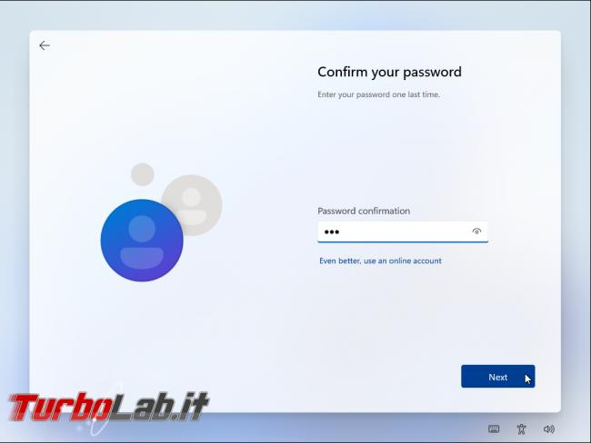 Come installare Windows 11 account locale offline, senza Microsoft Account