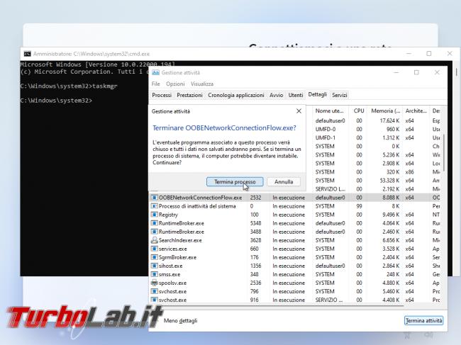 Come installare Windows 11 Home / Pro senza account Microsoft, utilizzando account offline (account locale) (video)