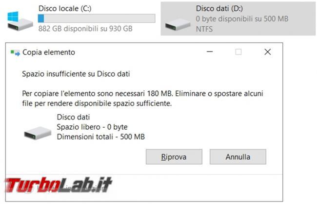 Come limitare spazio disco fisso assegnato ogni utente