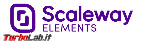 Come noleggiare server VPS Scaleway