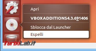"""Come ottenere schermo intero (""""fullscreen"""") Ubuntu 20.04 virtualizzato VirtualBox"""
