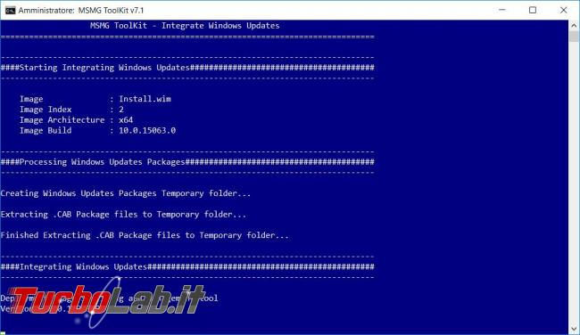 Come personalizzare supporto d'installazione Windows MSMG ToolKit