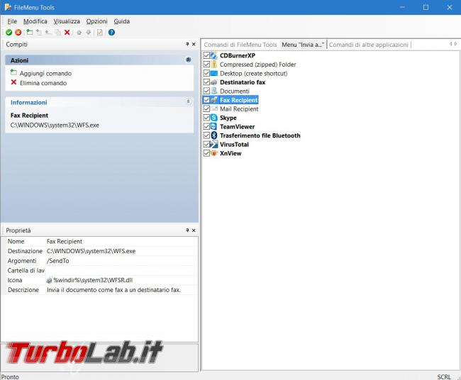 Come potenziare menu contestuale Windows FileMenu Tools
