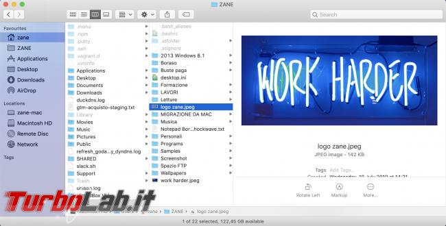 Come preparare Mac / MacBook vendita passaggio nuovo proprietario (cancellazione dati, reset macOS) - Screenshot 2019-09-08 at 17.56.05