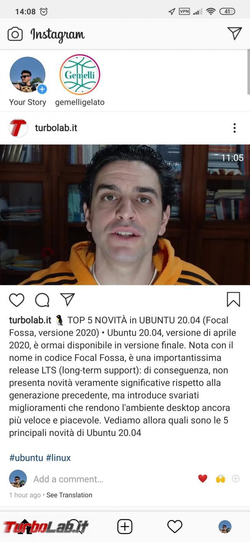 Come pubblicare video Instagram PC (metodo funzionante 2020) - Screenshot_2020-04-26-14-08-46-024_com.instagram.android