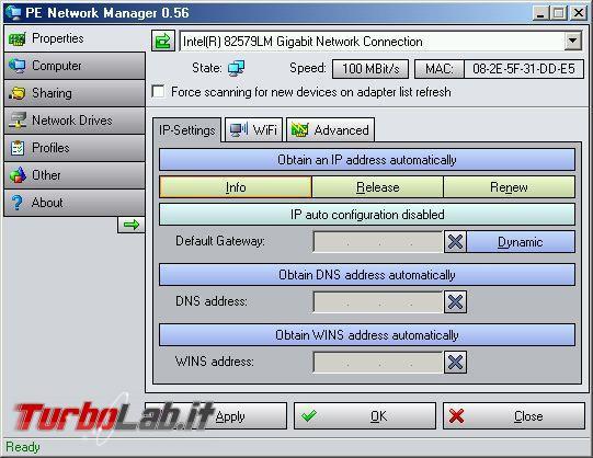 Come recuperare file sistema operativo non si avvia attraverso LAN supporto boot