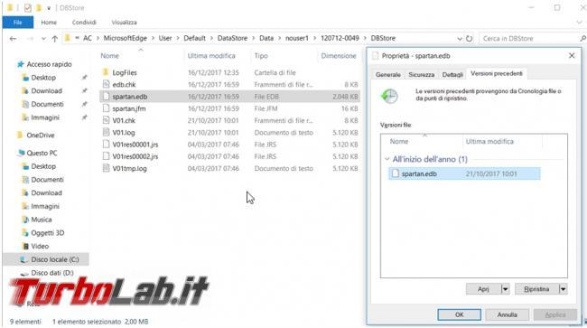 Come recuperare link preferiti Chrome, Opera, Firefox microsoft Edge se è scomparso cancellato errore