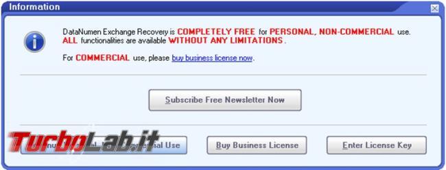 Come recuperare mail archivio posta exchange estensione ost