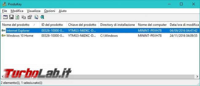 Come recuperare seriali Windows Microsoft Office Sistema operativo non si avvia