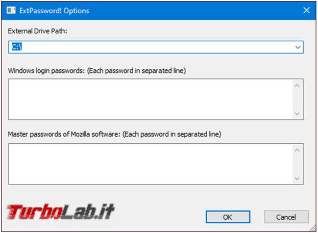 Come recuperare utenze password browser posta quando sistema operativo non si avvia più