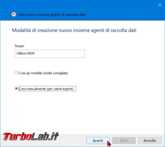 Come registrare consumo RAM PC / notebook Windows 10 (log uso RAM) - zShotVM_1555146067