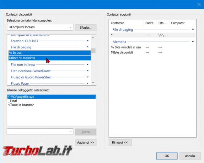Come registrare consumo RAM PC / notebook Windows 10 (log uso RAM) - zShotVM_1555147163