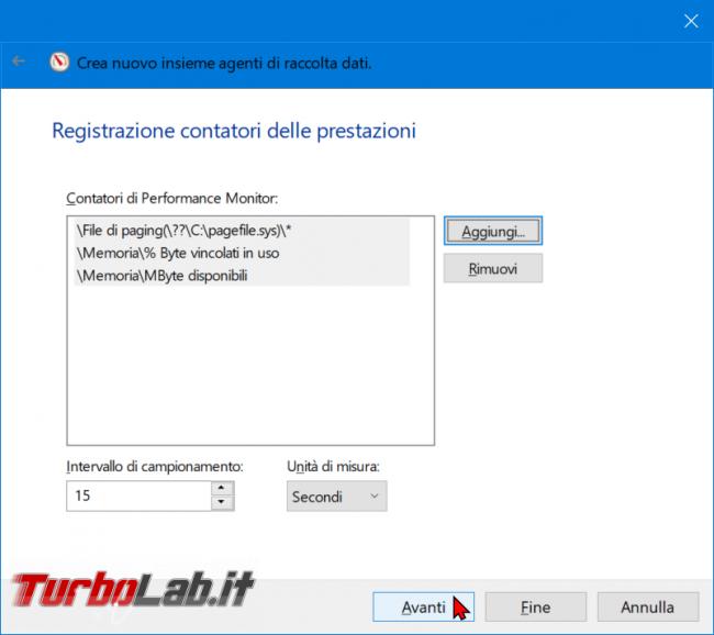 Come registrare consumo RAM PC / notebook Windows 10 (log uso RAM) - zShotVM_1555147243