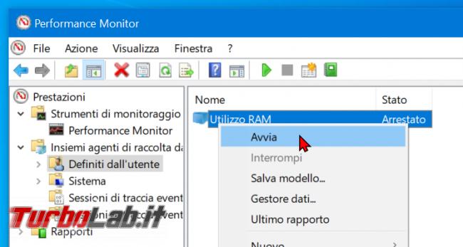 Come registrare consumo RAM PC / notebook Windows 10 (log uso RAM) - zShotVM_1555147557