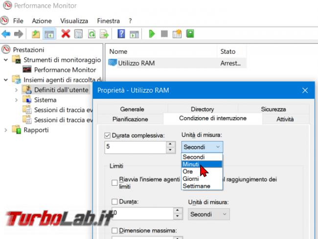 Come registrare consumo RAM PC / notebook Windows 10 (log uso RAM) - zShotVM_1555395640
