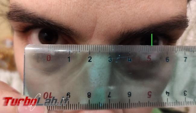 Come regolare lenti Oculus Quest 2 (misurare distanza occhi, IPD)