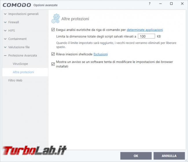 Come rimediare all'errore causato modulo guard64.dll, guard32.dll, Comodo Firewall Windows 10