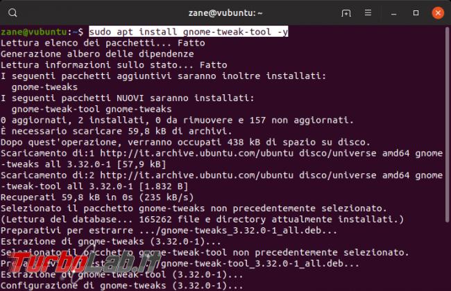 Come rimuovere / eliminare / nascondere Cestino desktop Ubuntu (guida) - Schermata del 2019-09-23 22-06-15