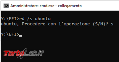 Come rimuovere Grub dual boot Ubuntu Windows 10 Uefi