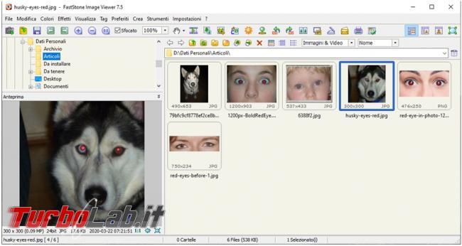 Come rimuovere occhi rossi fotografia