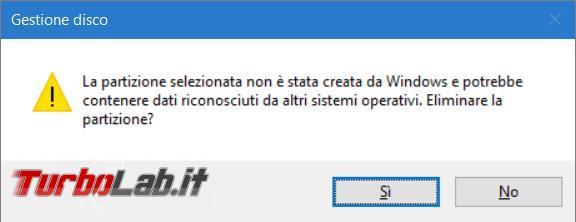Come rimuovere Ubuntu dual boot Windows 10