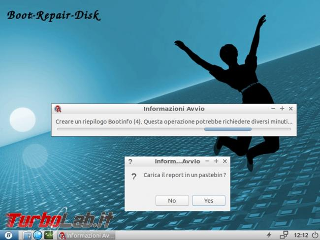 Come riparare boot Windows Linux Boot Repair Disk