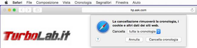 Come ripristinare browser safari Mac OS X