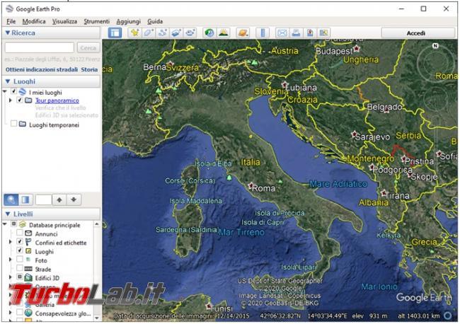 Come ripristinare funzionamento Google Earth quando si blocca l'utilizzo elevato RAM CPU