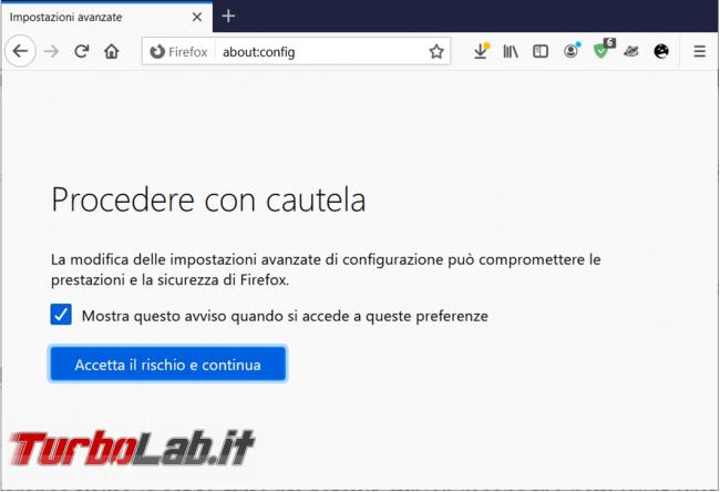 Come ripristinare l'interfaccia stampa classica Firefox
