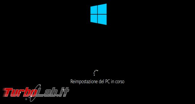 Come ripristinare resettare Windows 10 modo più facile: guida reinstallazione cloud