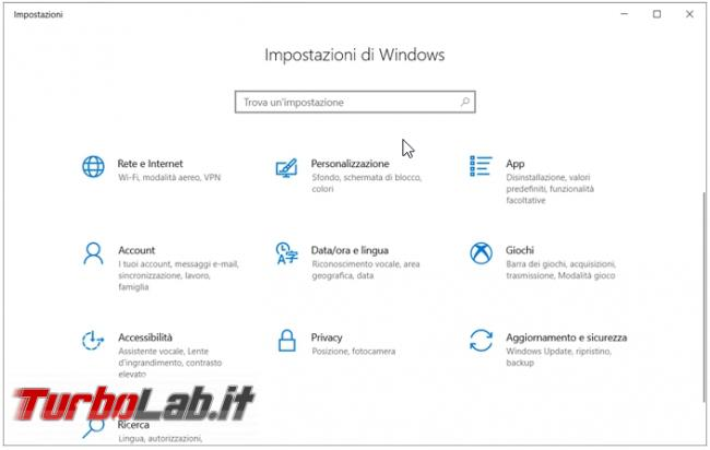 Come ripristinare visualizzazione notifiche Windows 10