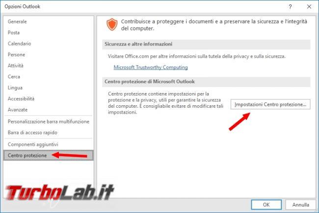 Come risolvere problema dell'Allega file Outlook si chiude solo