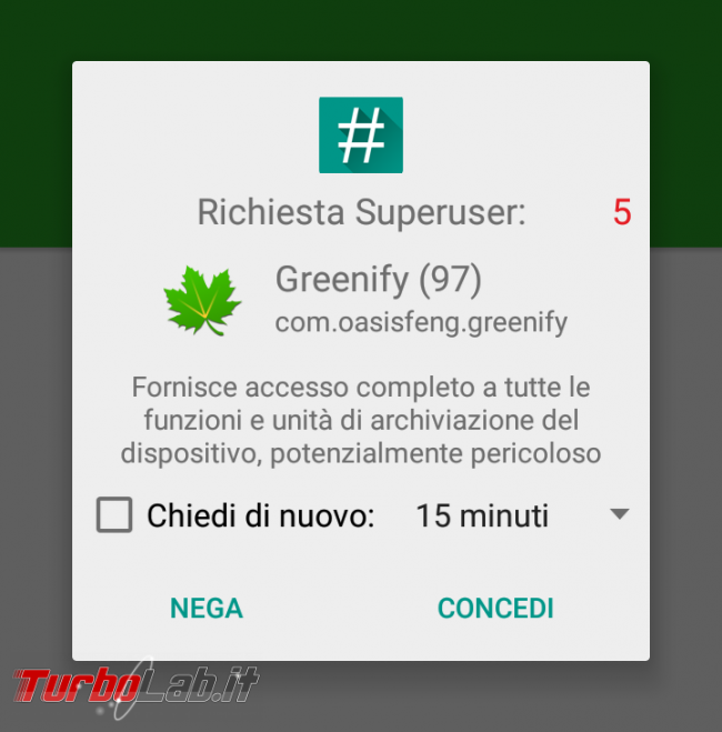 Come rootare smartphone Android: guida facile italiano root/rooting SuperSU - Screenshot_2016-12-25-22-40-46