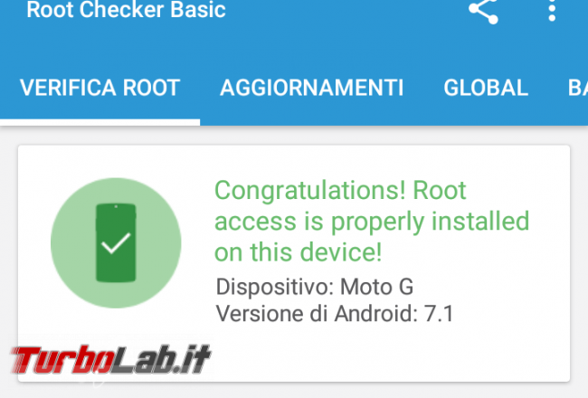 Come rootare smartphone Android: guida facile italiano root/rooting SuperSU - Screenshot_20161226-095909