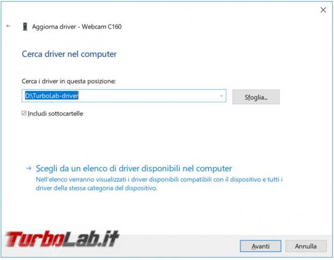 Come salvare driver non sistema direttamente riga comando PowerShell Windows 10